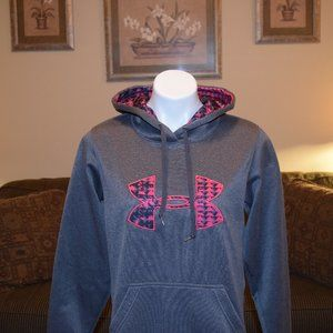 Under Armour Semi-Fitted Gray Sweatshirt